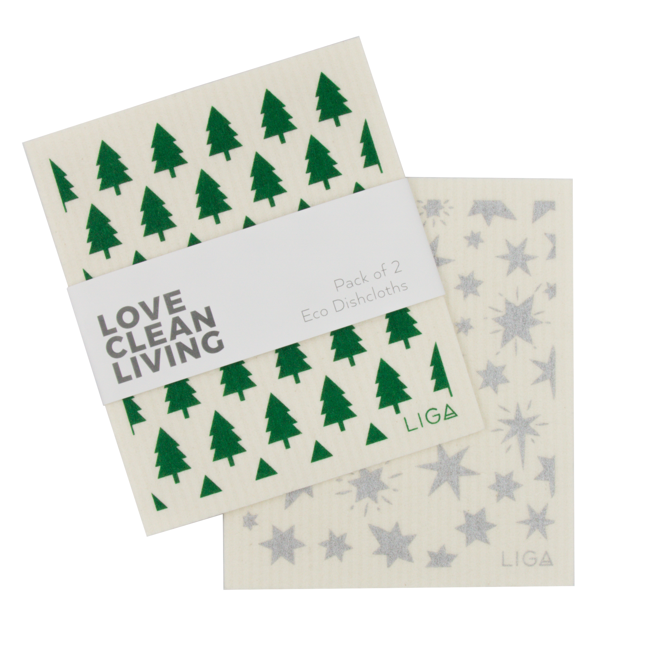 Love Clean Living | Dishcloths & Tea Towels