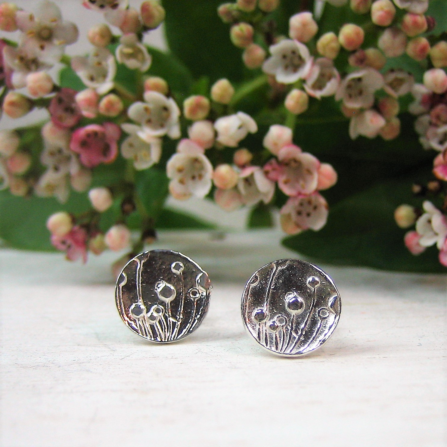 "958 ""Snowdrop"" earrings"