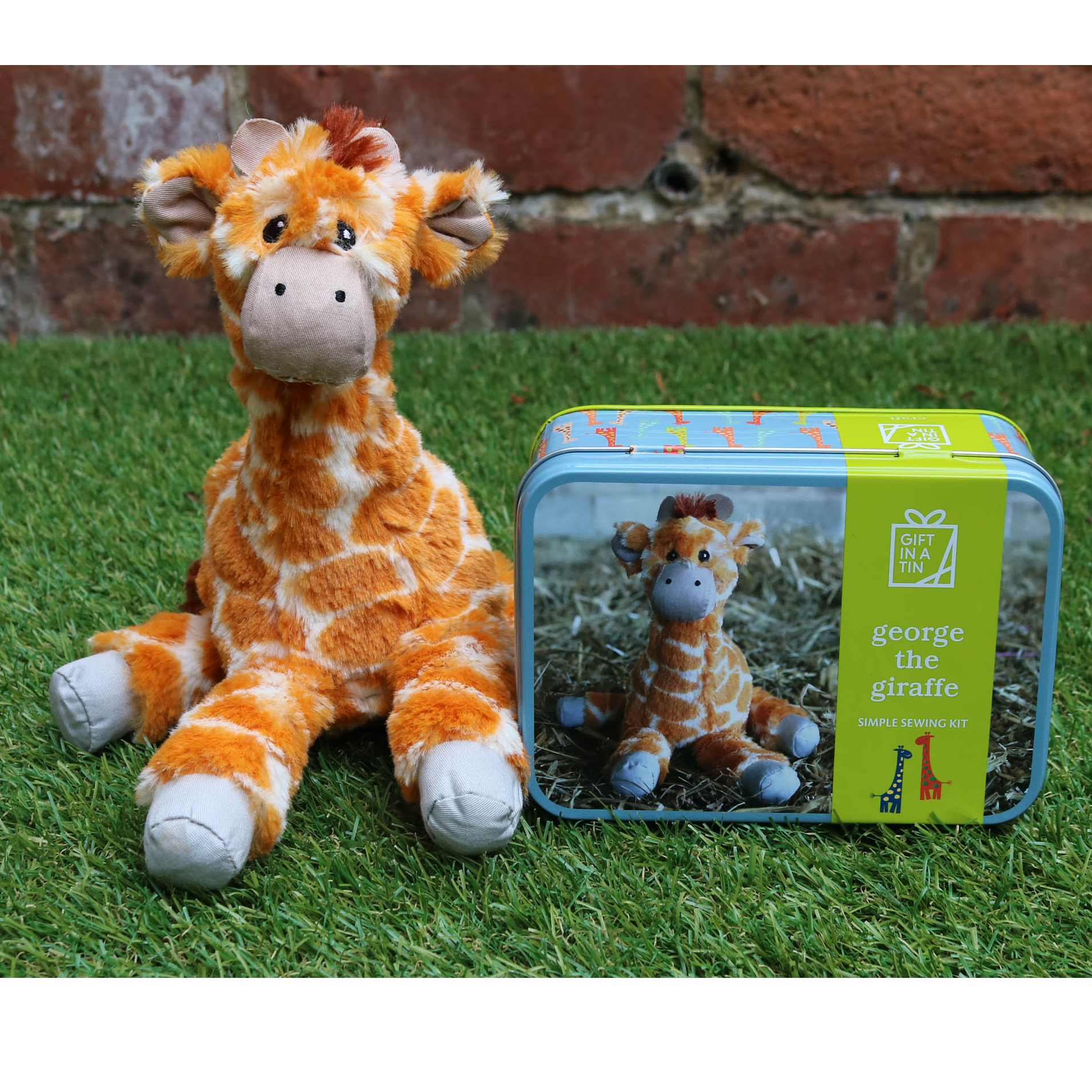 Gift in a Tin - George the Giraffe