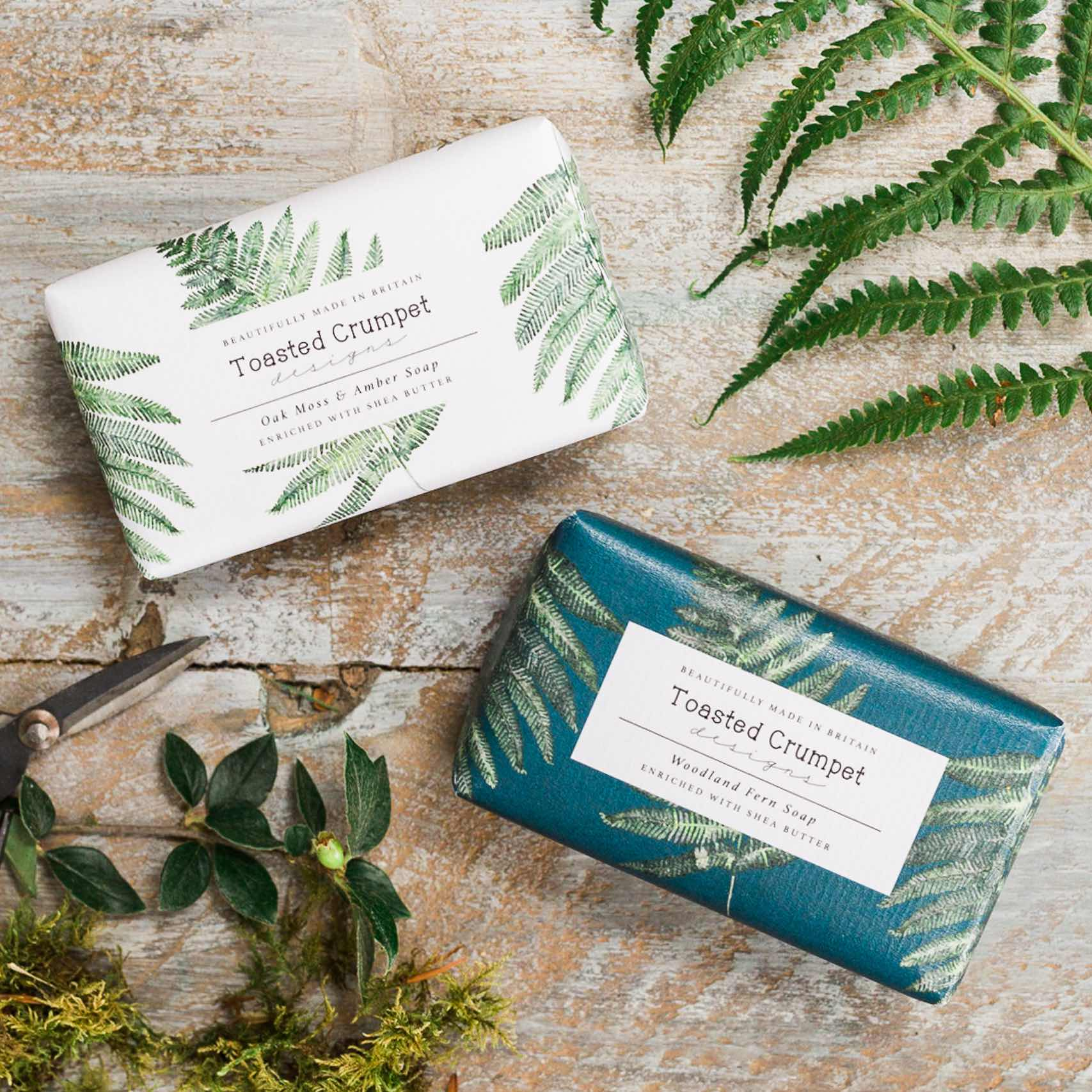 12 NEW! British Made Soaps