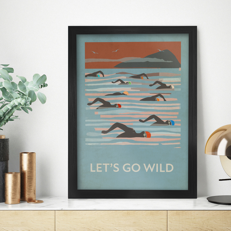 Let's Go Wild - Poster Print