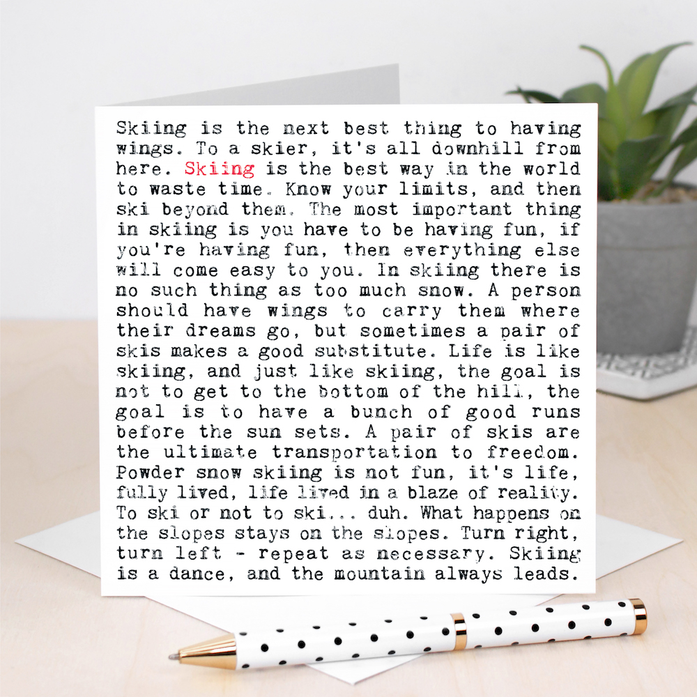 130+ 'Wise Words' Greeting Cards
