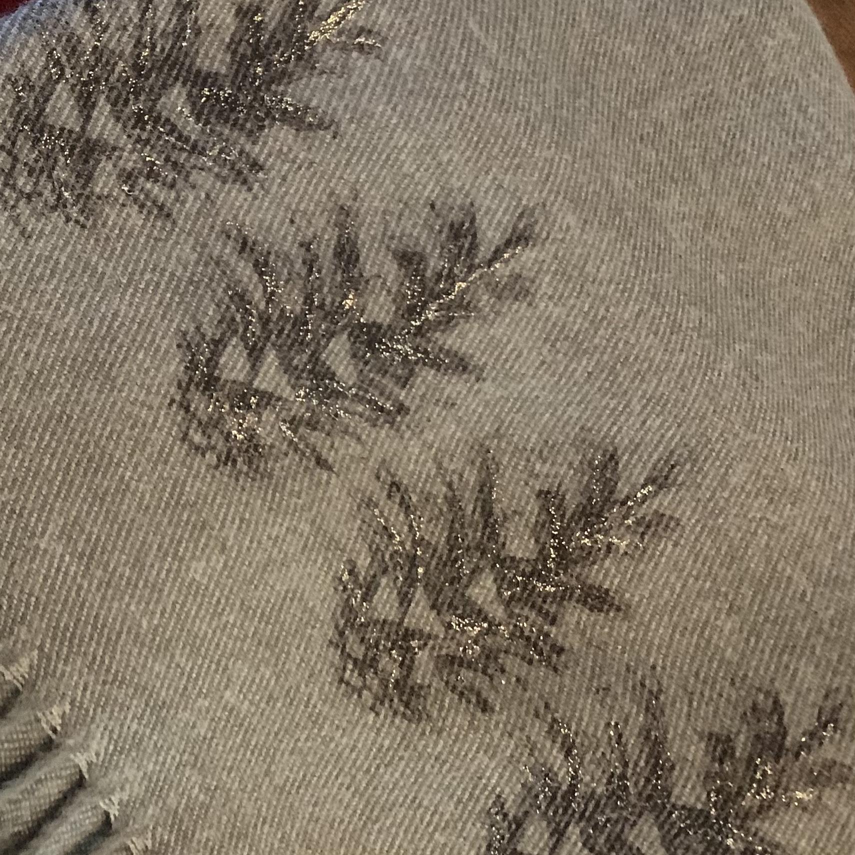 Handprinted Cashmere Blend Scarves