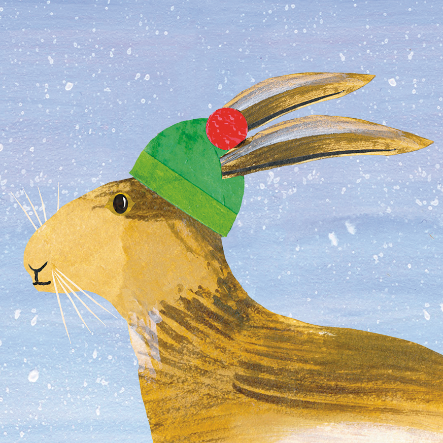 CHRISTMAS CREATURES: HARE
