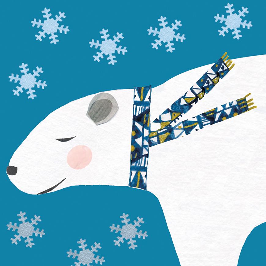 CHRISTMAS CREATURES: POLAR BEAR