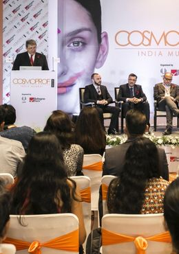 Cosmoprof India captivates in its debut