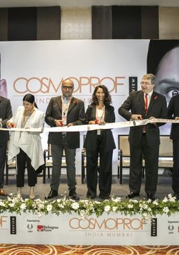 The maiden edition of Cosmoprof India Preview