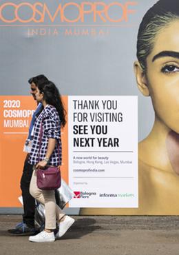 Cosmoprof India rescheduled for 29 – 31 October 2020