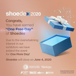 Shoedex will be online for 1 more day due to overwhelming interest