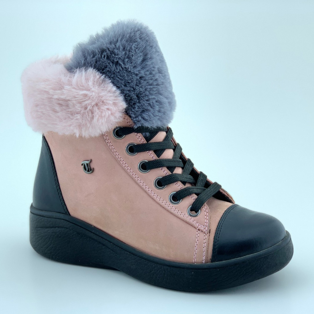 010T Leather Girl Boots