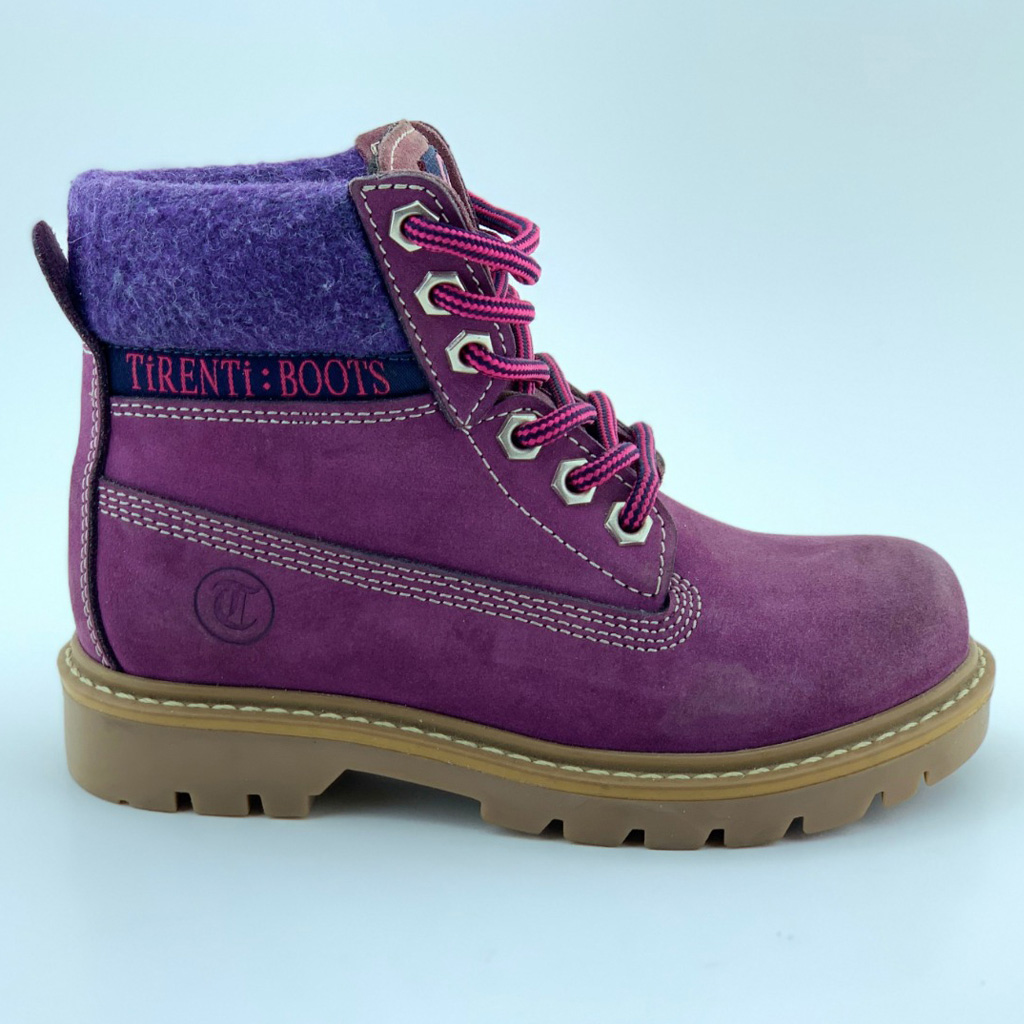 009T Leather Girl Boots