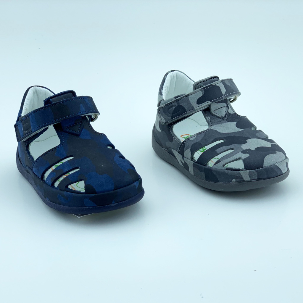 011L Leather Baby Boy Sandal