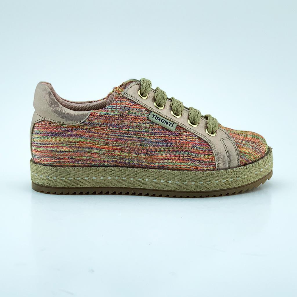 008T Textile Girl Sneaker