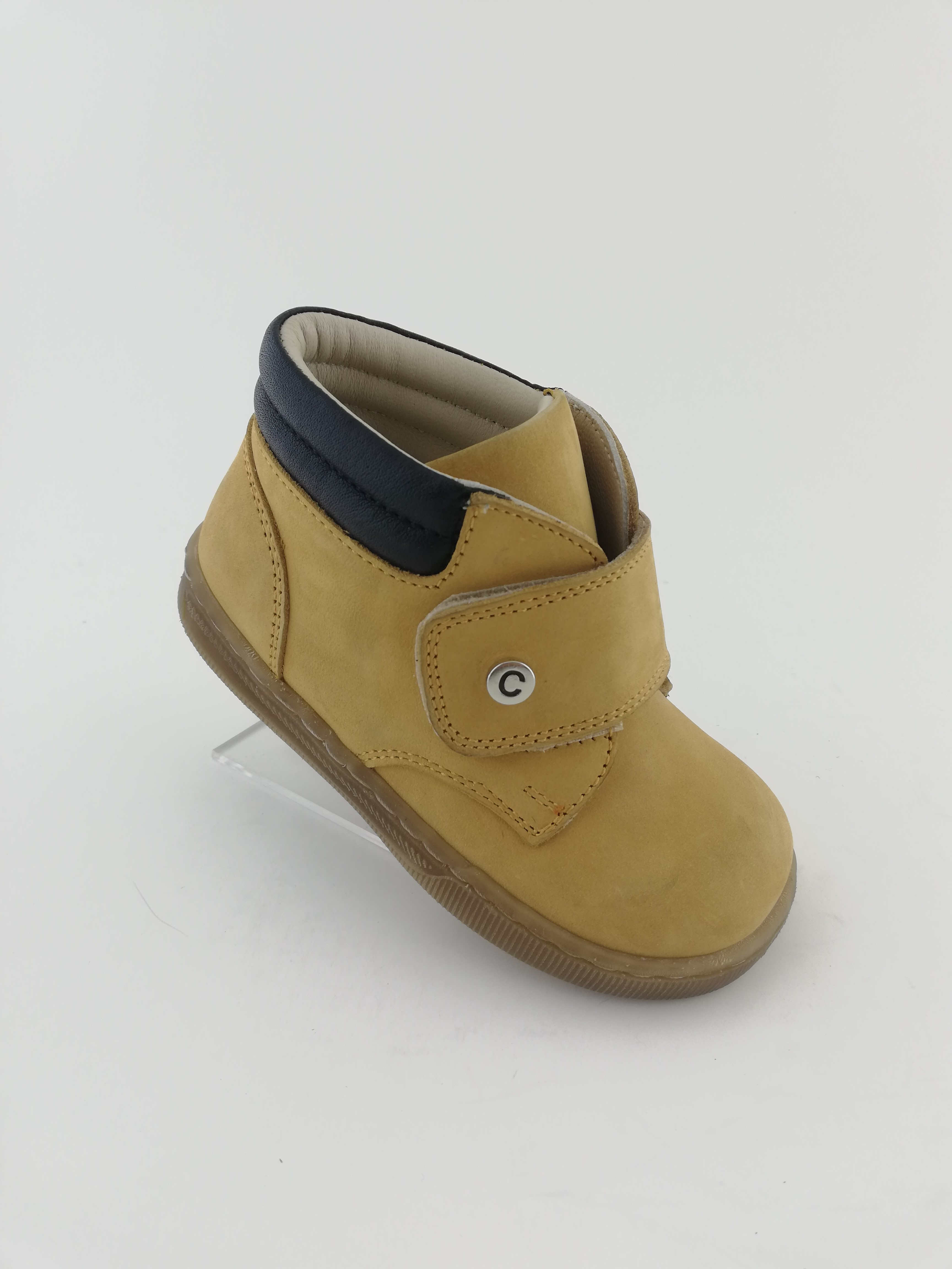 012P Leather Baby Boy Boots