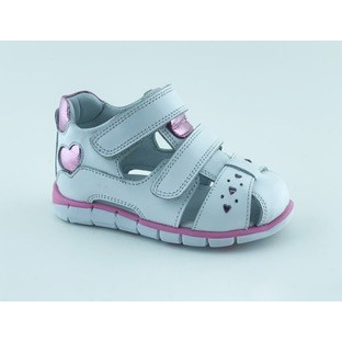 002P Leather Baby Girl Sandal
