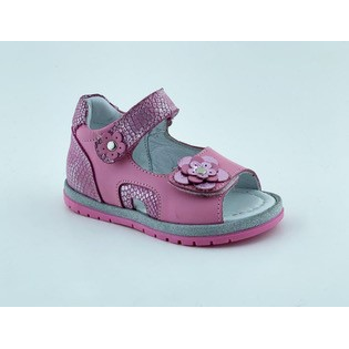 004P Leather Baby Girl Sandal