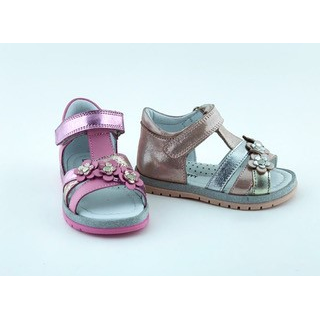 005P Leather Baby Girl Sandal