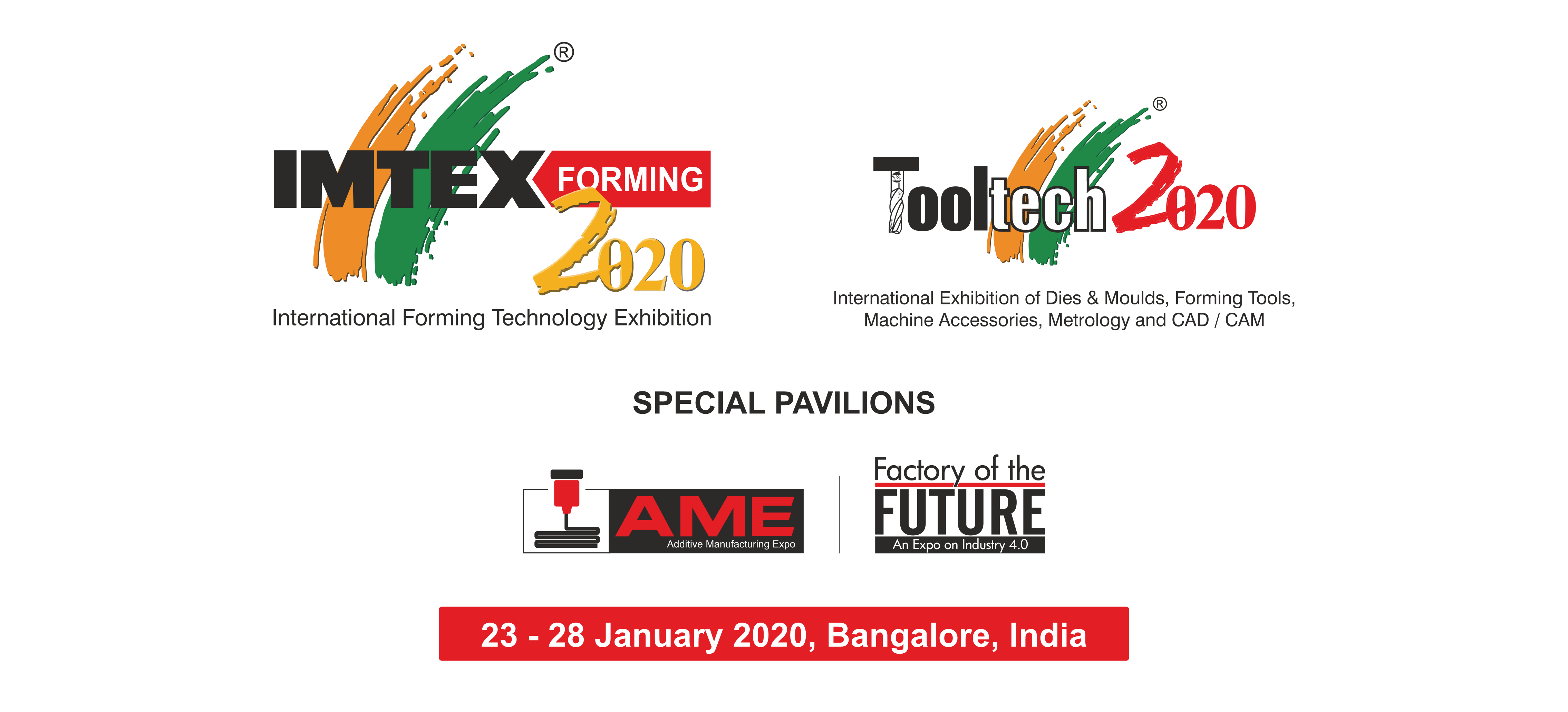 IMTEX FORMING 2020 / TOOLTECH 2020