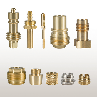 Brass parts to customer's drawing - Zeichnungsdrehteile - Torniti a disegno