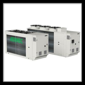 NRG e NRGI. Refrigeratori e pompe di aria-acqua ad R32.