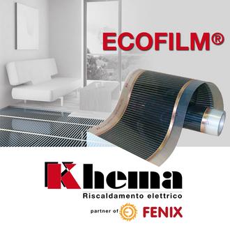 Khema Riscaldamento Radiante a pellicola scaldante ECOFILM® di FENIX