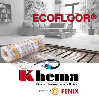 Khema Riscaldamento radiante con cavi scaldanti ECOFLOOR® di FENIX