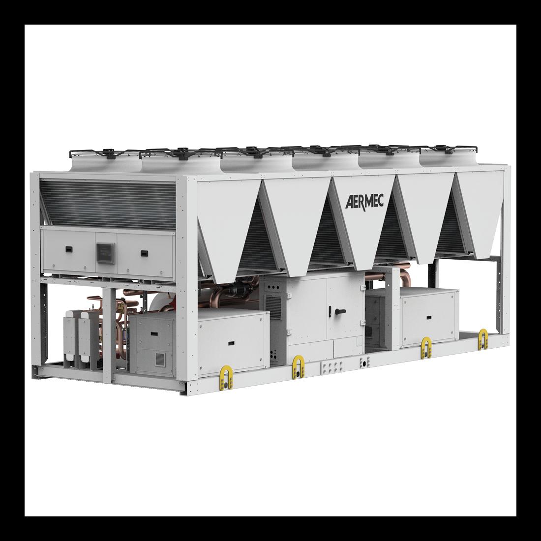 TBG. I refrigeratori con compressori Turbocor a levitazione magnetica e refrigerante R1234ze.