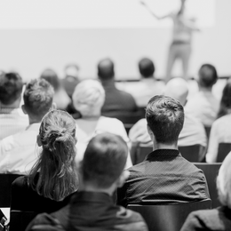 Attending seminars v online research