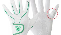 GOuft Cool Skin Cushion Pad attached Golf Glove