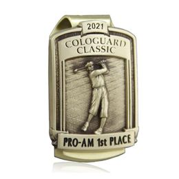 Malcolm DeMille creates Money Clips for Cologuard Classic Pro-Am Winners