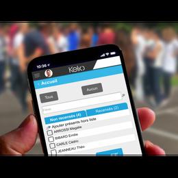Exercice incendie : émargement sur mobile