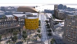 Boost for Cardiff Bay as Atlantic Wharf masterplan revealed