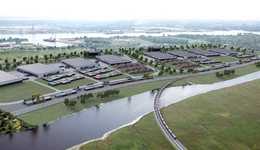 The Freeport of Riga Authority has started development plan and scouting for investors in its Spilve meadows territory