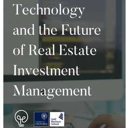 Report: Technology and the Future of Real Estate Management