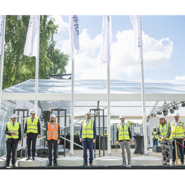 Opening of the Rail Baltica station construction site at the Riga International Airport