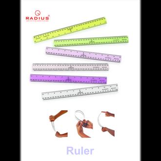 RADIUS FLEXIBLE RULER
