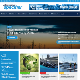 Electronic Specifier – Europe's premier publisher of information resources to the Global Electronics Industry