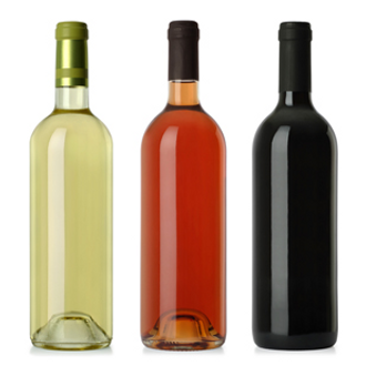 Red, White and Rose Wines