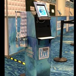 Evosk(TM): Custom and Compact Entry Kiosk