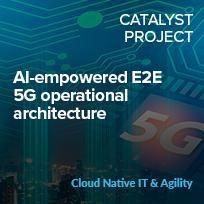 AI-empowered E2E 5G operational architecture