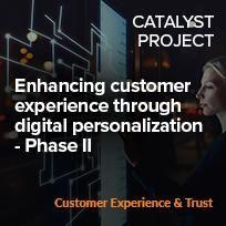 Enhancing customer experience through digital personalization - Phase II