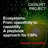 Ecosystems - from opportunity to capability, a playbook for CSPs