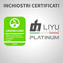 Gli inchiostri PLATINUM di Liyu ottengono la certificazione GREENGUARD GOLD