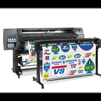 HP Latex Stampa e Taglio