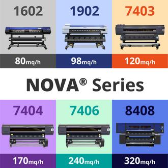 Plotter NOVA®  [ Water-Based - Sublimation - Eco Solvent ]
