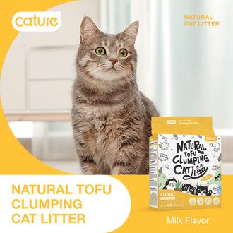 Natural and Premium Tofu Cat Litter