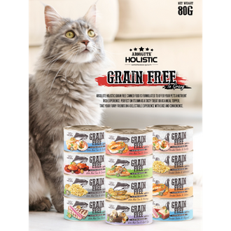 Absolute Holistic Grainfree Canned Food