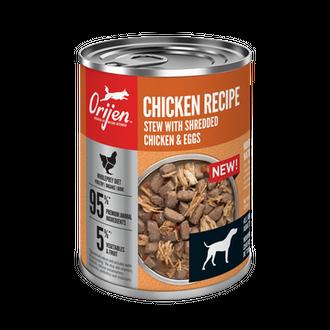 ORIJEN Chicken Recipe Stew With Shredded Chicken & Eggs Wet Dog Food