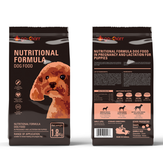 Go-Charr nutritional formula dog food in pregnancy and lactation for puppies 高雀营养孕哺幼犬粮