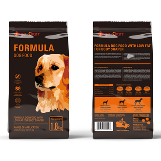 Go-Charr formula dog food with low fat for body shaper 高雀低脂塑身配方犬粮